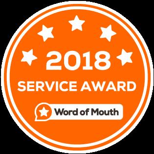 2018 service award