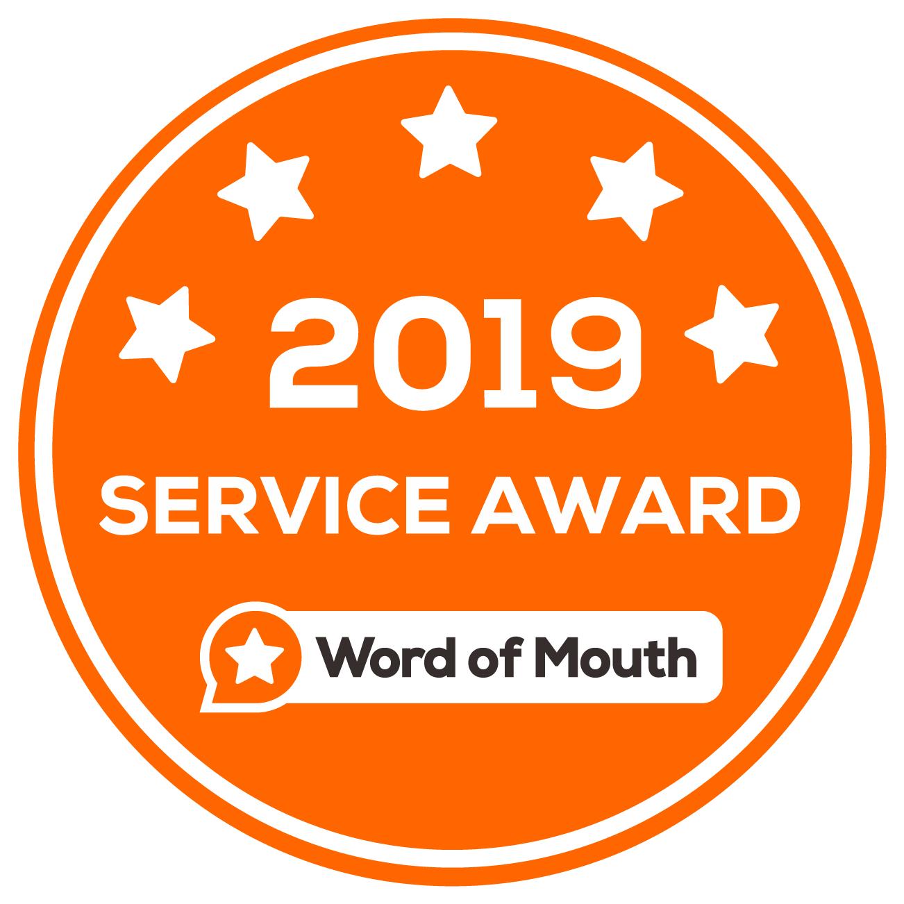 2019 service award