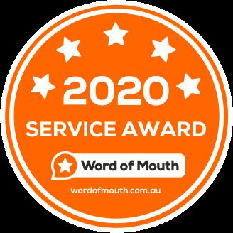 2020 service award
